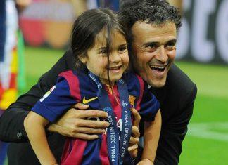 L'ancien entraîneur du Barça Luis Enrique annonce la mort de sa fille Xana des suites d'un cancer