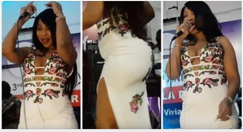 ( 10 Photos ) Déhanchement, robe utra moulante… Viviane Chidid dévoile ses jolies jambettes gracieuses et séduit les Gambiens