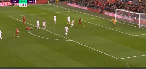 Vidéo – Sadio Mané inscrit son 11e but de la saison sur un magnifique Tiki-Taka avec Mo Salah