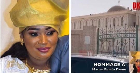 Les images déchirantes de l'enterrement de Mame Bineta l'épouse d'aziz Ndiaye