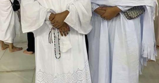 Les deux épouses du promoteur Aziz Ndiaye ensemble à la Mecque