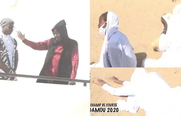 (Vidéo) Gamou Tivaoune: Accueil spectaculaire de Serigne Moustapha SY au champ de course, Des talibés en transe