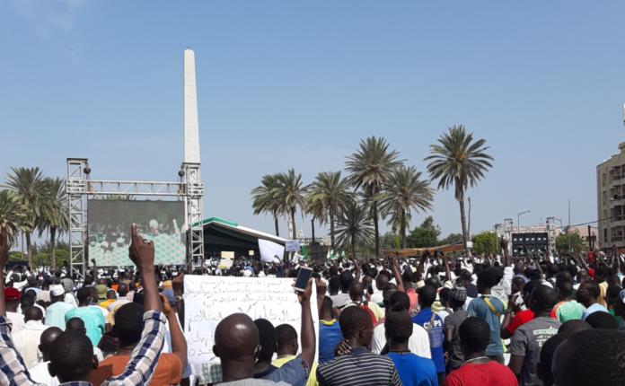(Photos) Les sénégalais montrent leur Amour au Prophète Mouhamed (PSL): Voici Les images du Rassemblement