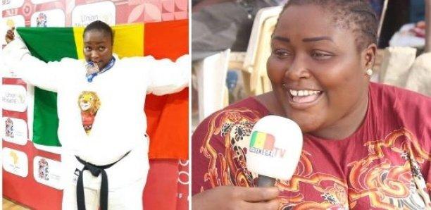 Monica Sagna, championne d'Afrique de Judo devenu vendeuse de »feug diaye»