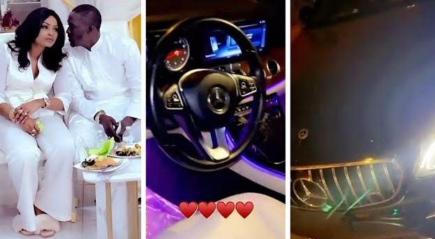 (Vidéo) Après L'iphone En Or Et Diamant, Baye NIASS Surprend Mbathio Ndiaye Avec Un Mercedes