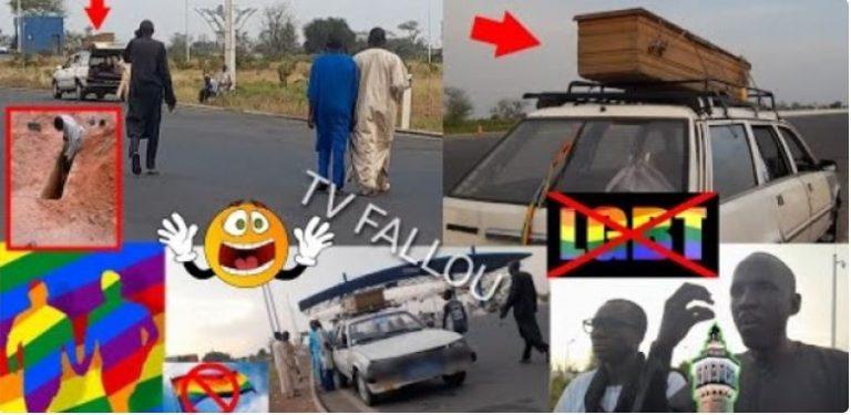 (Vidéo) Voulant enterrer un corps « h0mos*xuel », le darra moukhadimat s'y oppose en rapatriant le corps vers Dakar
