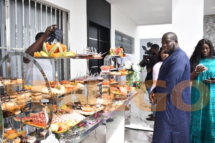 (Photos) Tivaoune 2021 : Découvrez le petit-déjeuner royal de Aziz Ndiaye à la résidence Al Amine