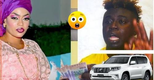 (Vidéo) Kawtef : Pawlish Mbaye reçoit 5 millions plus une voiture et devient talibé inconditionnel de Sokhna Aida